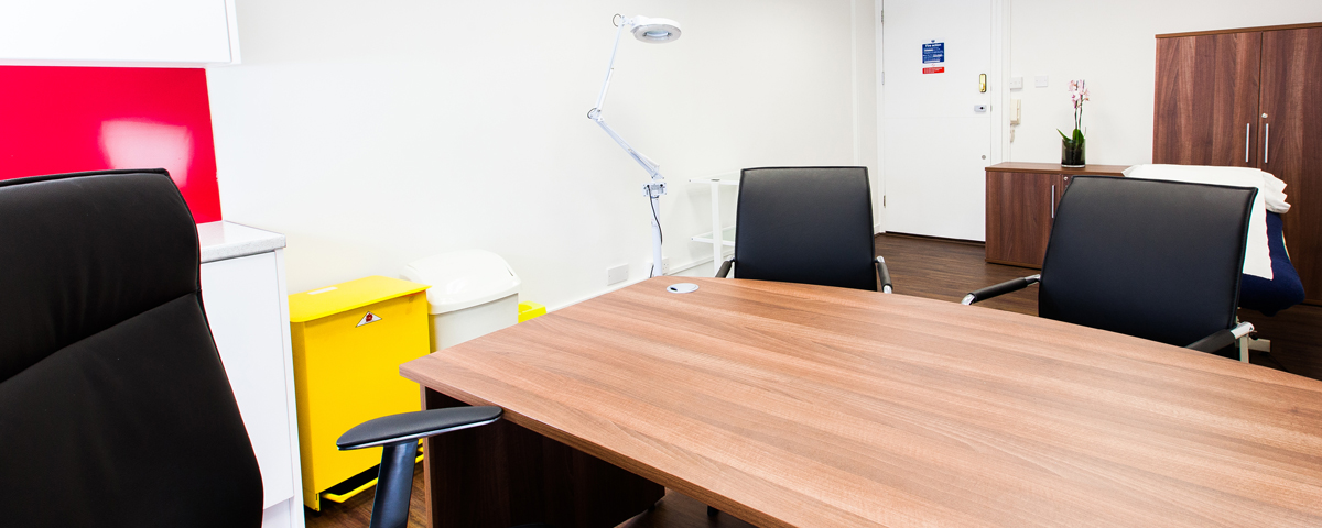 Harley Street consulting rooms to hire